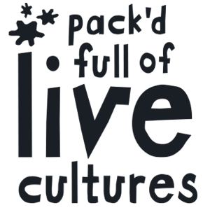Pack'd full of live cultures