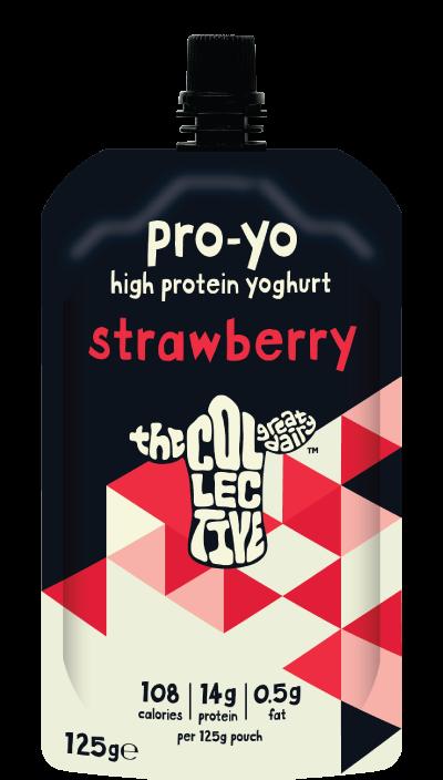 Strawberry pro-yo